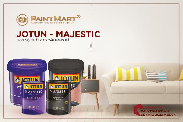Những điểm nổi bật của sơn nội thất Jotun Majestic