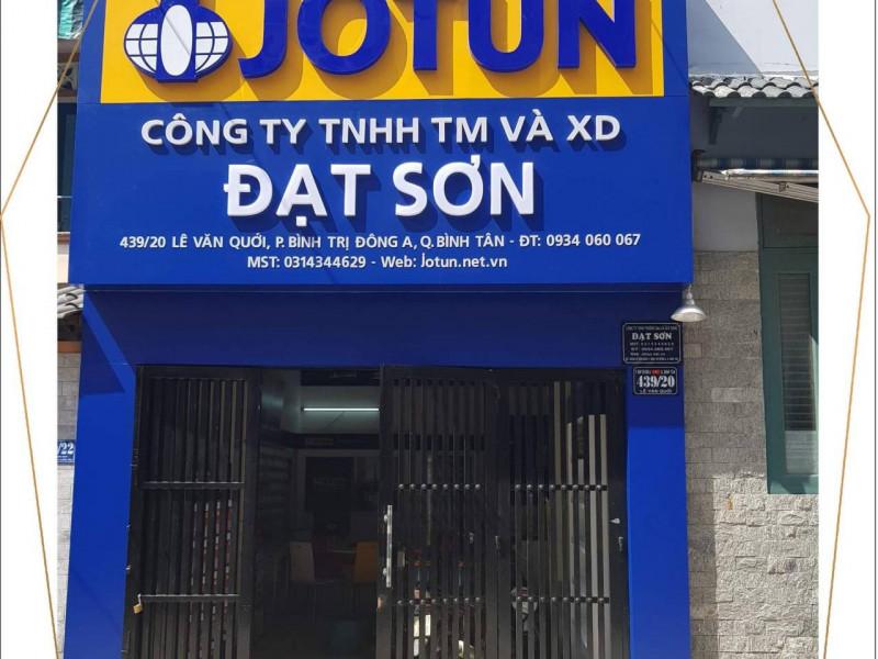 Showroom tư vấn và pha màu Độc Quyền hãng Sơn Jotun