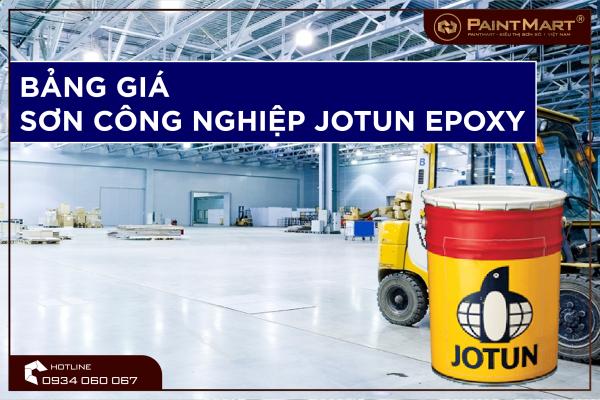 Bảng báo giá sơn công nghiệp Jotun Epoxy mới nhất