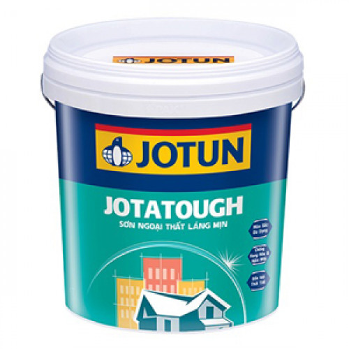 Sơn nước ngoại thất Kinh tế Jotun Jotatough 17L