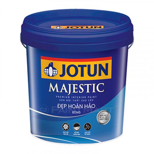 Sơn nội thất Jotun Majestic đẹp hoàn hảo bóng lon 5 lít