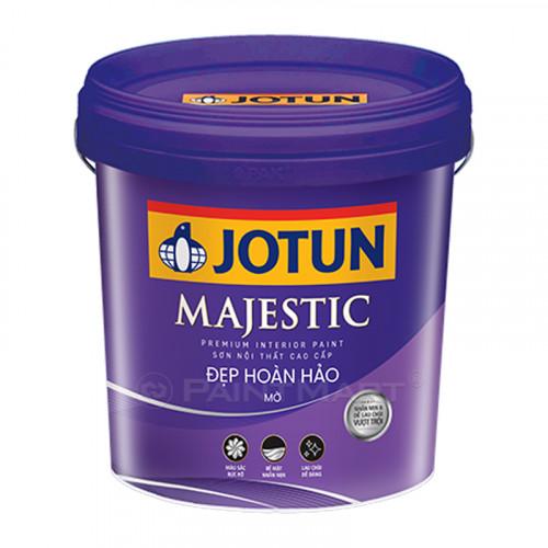 Sơn nội thất Jotun Majestic đẹp hoàn hảo bóng mờ 5 Lít